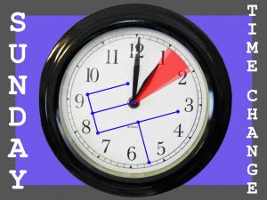 ECLATT Reminds you to Change Your Clocks