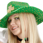 ECLATT Leprechaun Girl Hat Logo