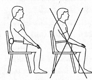 Sitting Posture Important Low Back Pain