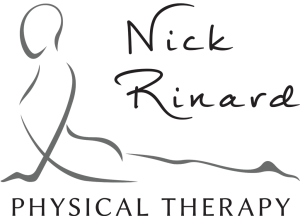 Nick Rinard Physical Therapy in Portland Oregon Logo White