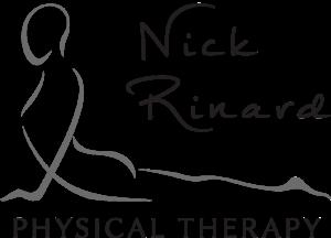 Nick Rinard Physical Therapy in Portland Oregon Logo White