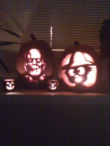 Nick Rinard Physical Therapy Jack-O-Lanterns by Maria and Jake