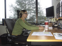 Poor posture at work leads to Physical Therapy